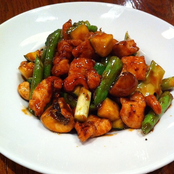Cashew Chicken And Pork @ Howard Wang's China Grill