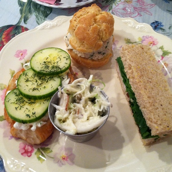 Assorted Tea Sandwiches @ Red Brick Bakery & Tea Room