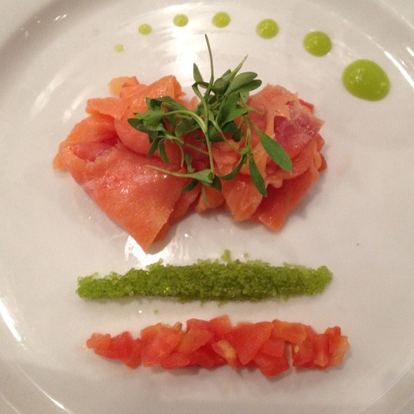 Salmon salad - Broadmoor Bistro @ The Center for Academic Achievement, Overland Park, KS