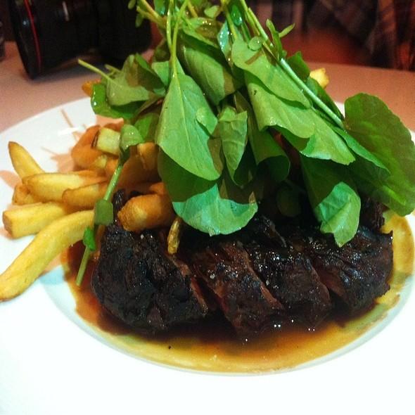 Steak Frites @ The Corner Office Restaurant + Martini Bar
