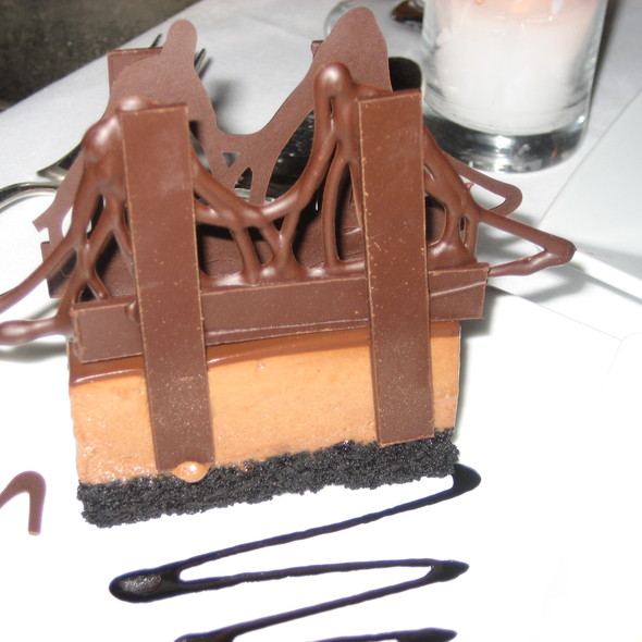 Chocolate Marquise Brooklyn Bridge @ The River Café