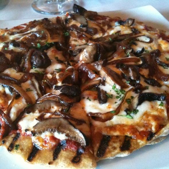 Mushroom Pizza - IL Mito Enoteca, Wauwatosa, WI