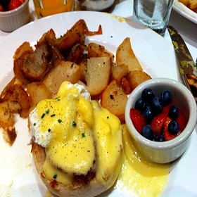Eggs Benedict - The Capital Grille - Indianapolis, Indianapolis, IN