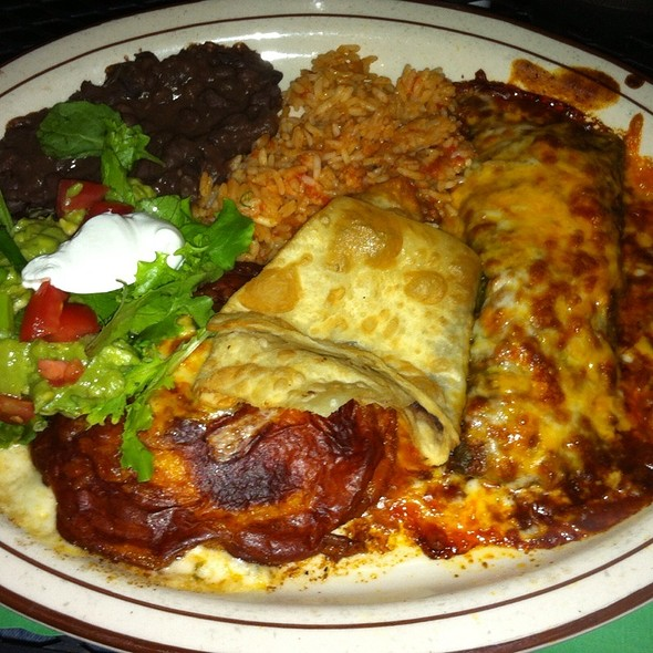 Santa Fe Sampler At El Patio Mexican Restaurant