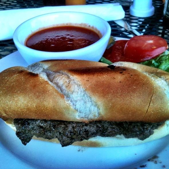 Italian Burger @ Sutera's Restaurant Westwood