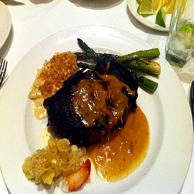 Kona Crusted Dry Aged Sirloin Steak - The Capital Grille - Indianapolis, Indianapolis, IN