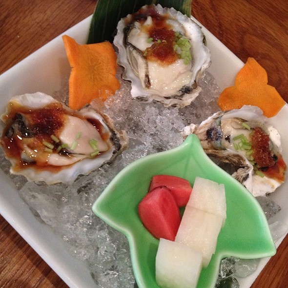 Kumamoto oysters - 15 East Restaurant, New York, NY