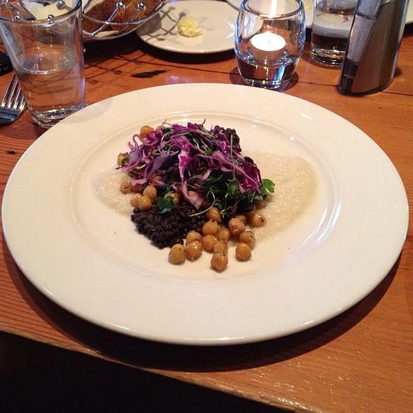 Warm Lentil & Chickpea Salad - FareStart, Seattle, WA