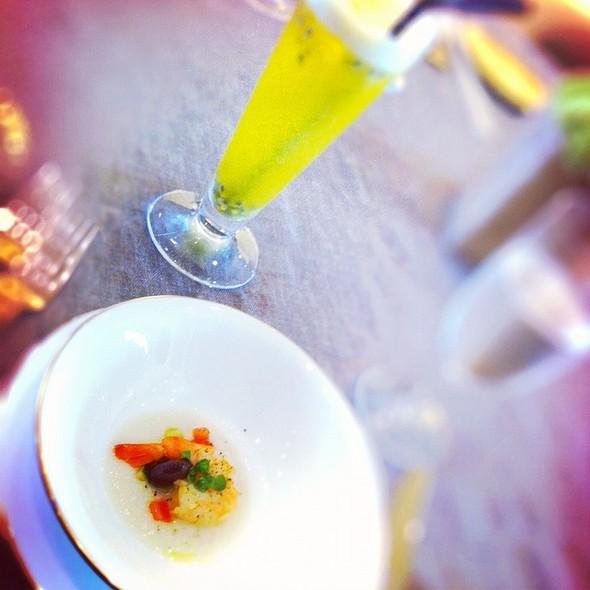 Shrimp @ Italian Resurant At Burj Khalifa