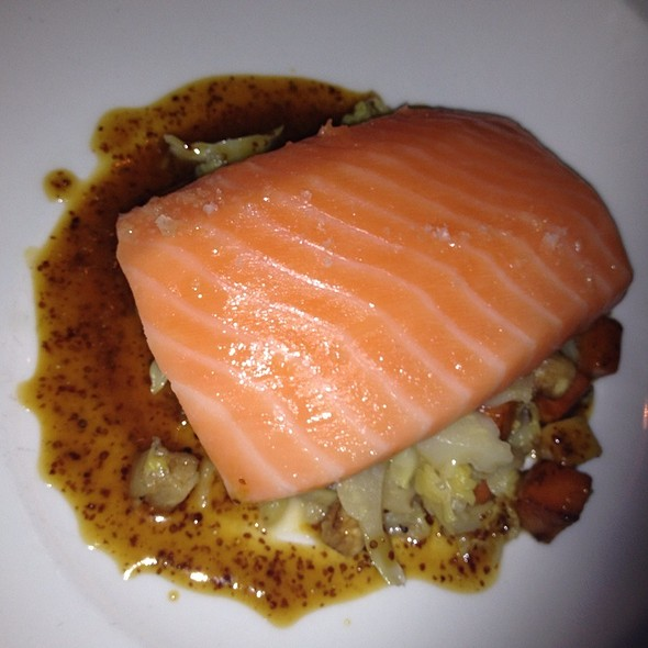 Confict Salmon @ The Atlantic Restaurant