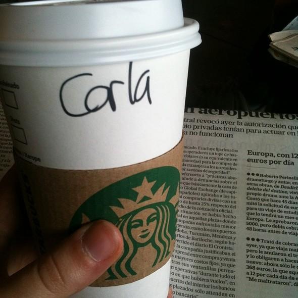 skinny caramel macchiato @ Starbucks