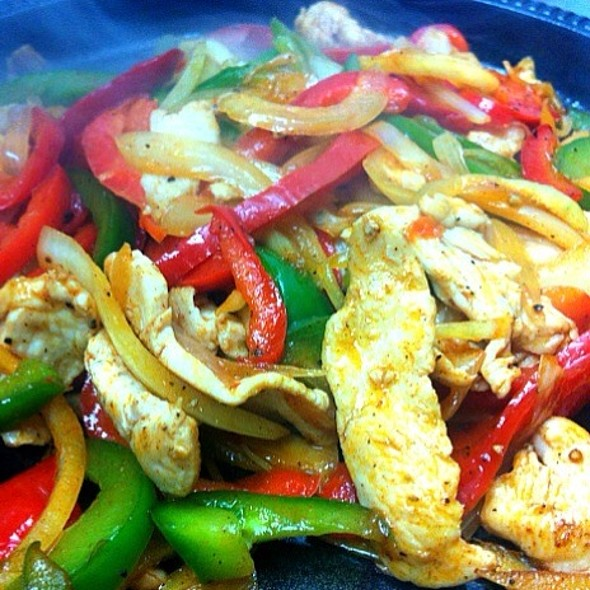 Chicken Fajitas @ Loco Bar & Restaurant
