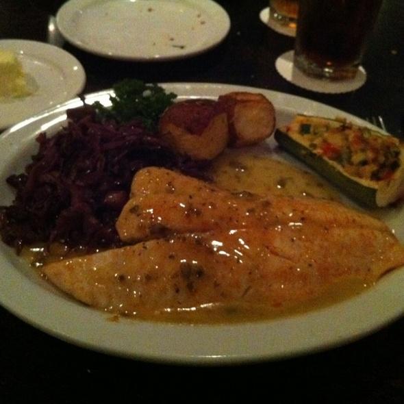 Canadian Walleye - Brave New Restaurant, Little Rock, AR