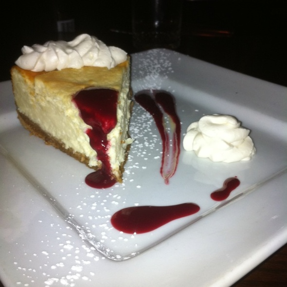 Cheesecake @ Henry B's Restaurant