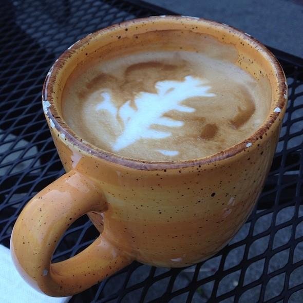 Latte @ Rooz Cafe