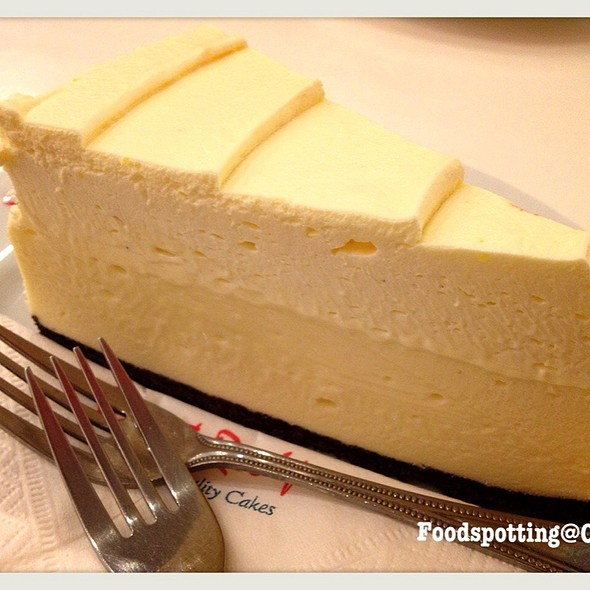 white chocolate cake @ Secret Recipes, Siam Paragon
