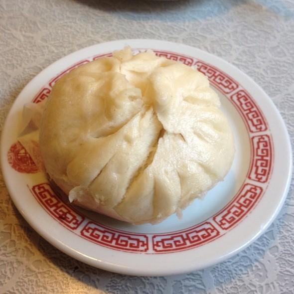 BBQ Pork Bun (char siu bao) @ Nom Wah Tea Parlor