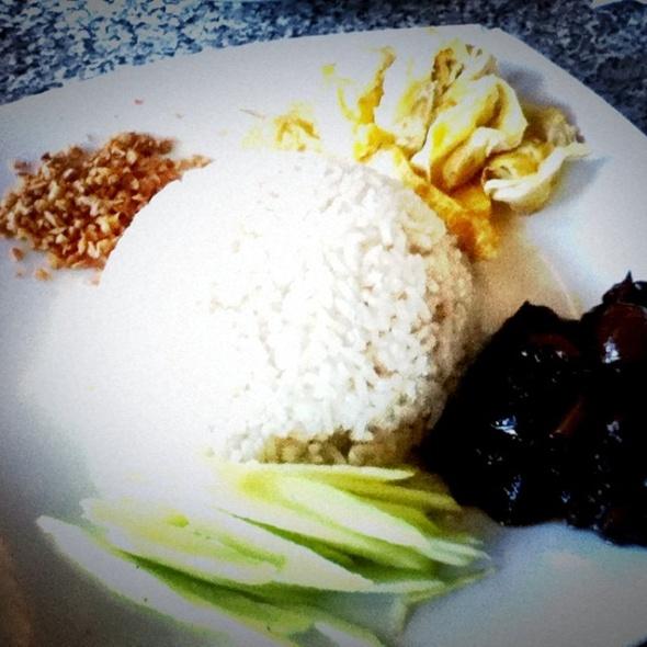 Belacan Pork Rice @ Shiok! Restaurant