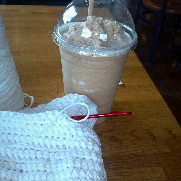 Frozen Skinny Spiced Chai Latte at The Coffee Cup