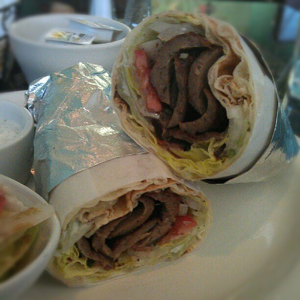 Gyros Wrap @ Green Rice Kabob