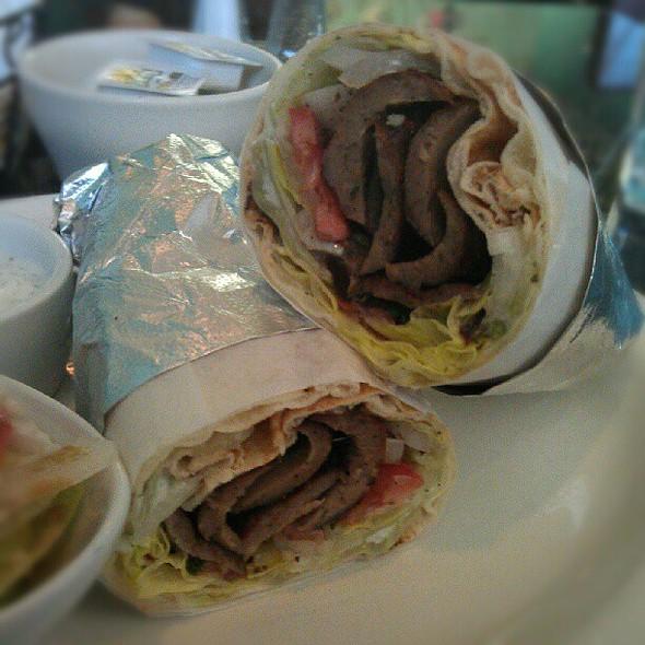 Gyros Wrap @ Green Rice Kabob