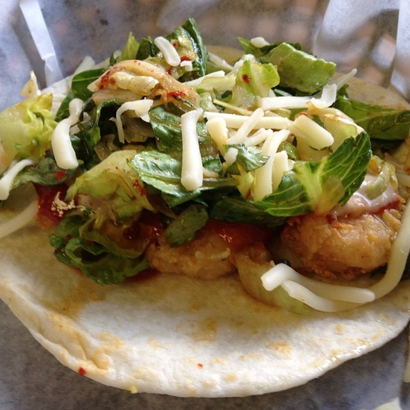 Crispy Shrimp Taco @ Hankook Taqueria