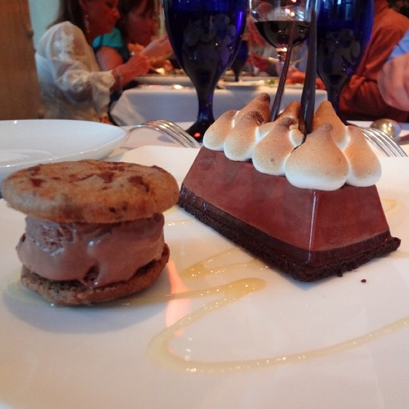 Chocolate Marshmallow Pie @ Boulevard