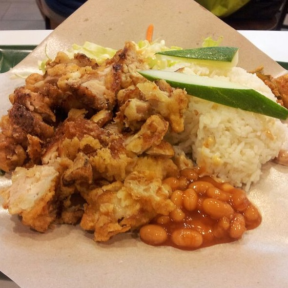 Crispy Chicken Cutlet Rice @ Kopi Roti Central