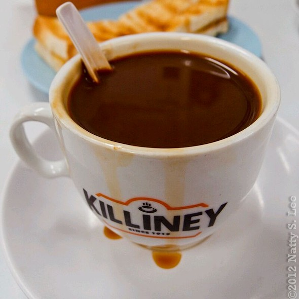 Coffee With Condensed Milk @ Killiney Kopitiam