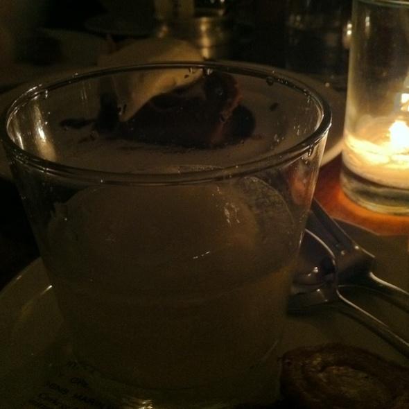 Pear Sorbet @ Bar Tartine