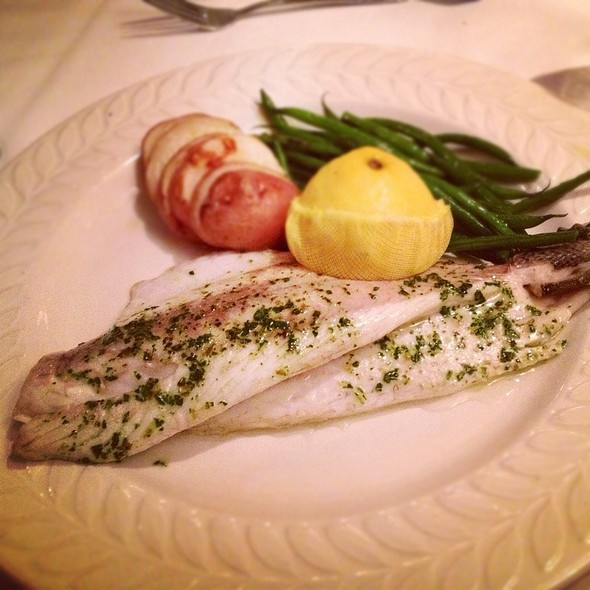 Mediterranean Sea Bass With Herbs