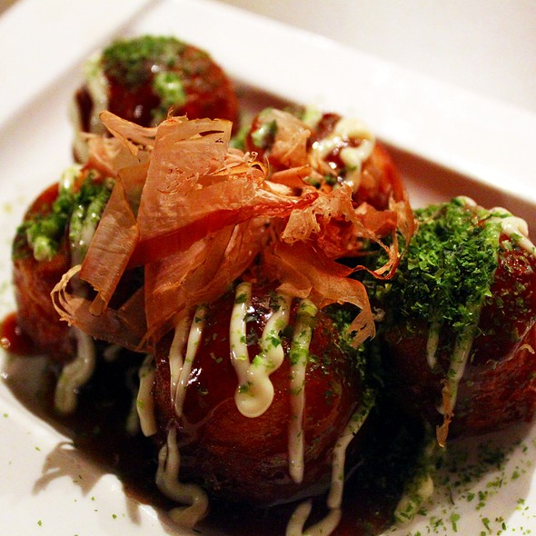 Takoyaki Octopus Balls @ IMADAKE IZAKAYA