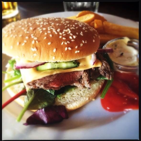 Oksekød Burger