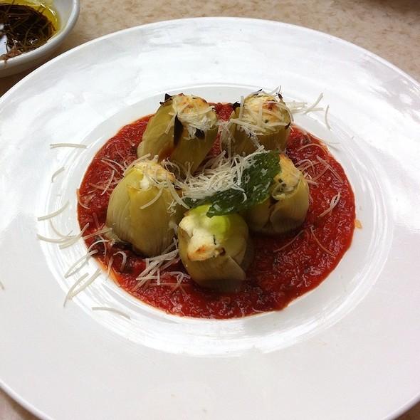 Baked Artichoke Al Forno @ Zocca Cuisine D'Italia