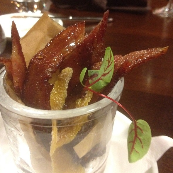 Candied Lemon And Bacon @ Urban Enoteca