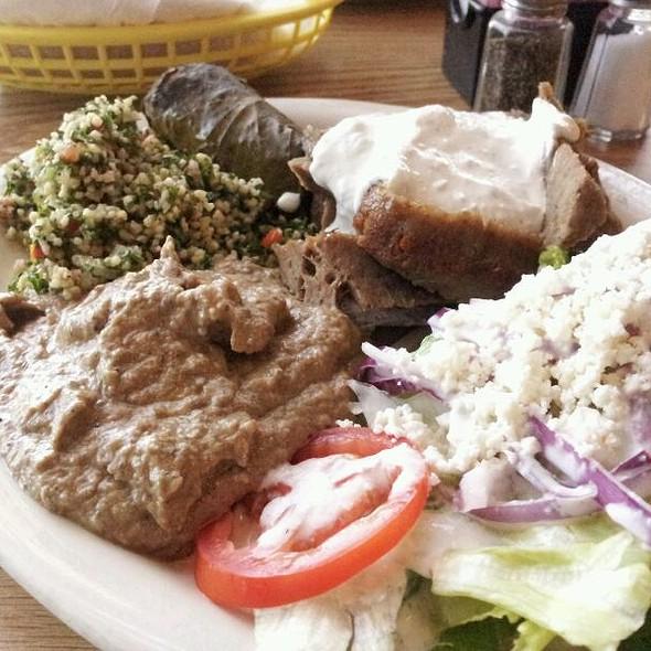 Gyro Plate @ Tino's Greek Cafe