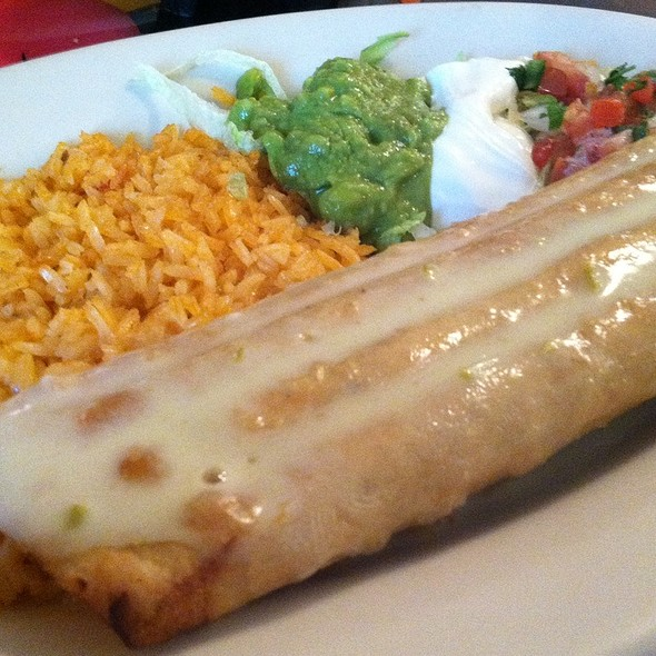 Chicken Chimichanga @ De La Paz