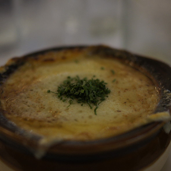 French Onion Soup - The Odeon, New York, NY