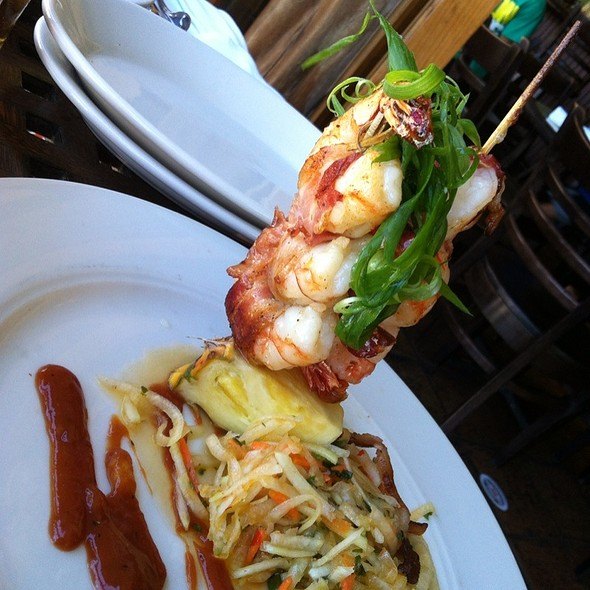 Bacon Wrapped Shrimp @ Kona Brewing Company