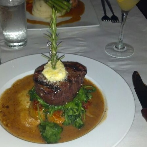 Maytag Filet Mignon - Passion, The Restaurant, Chesapeake, VA