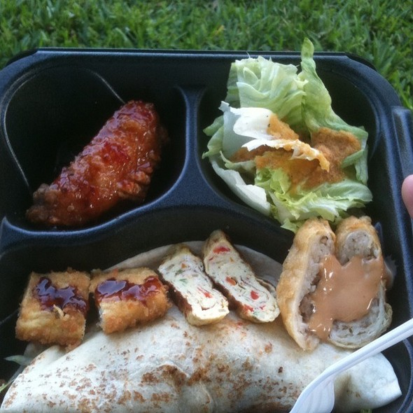 Spicy Pork Taco Box @ Korean BBQ Taco Box