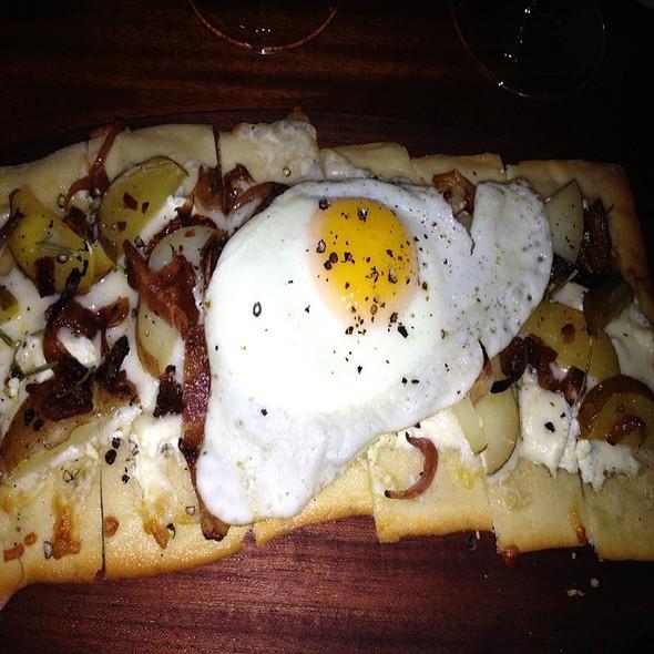 Red Potato & Rosemary Pizza  - Bacchus Bar and Bistro, Irvine, CA
