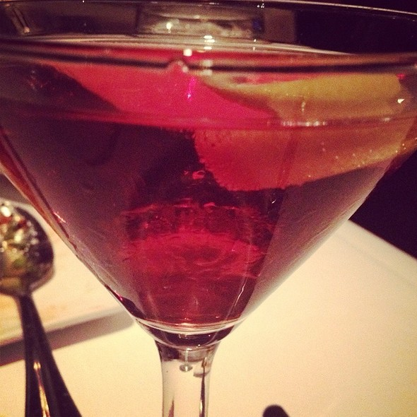 Pomagranate Martini @ Del Frisco's Double Eagle