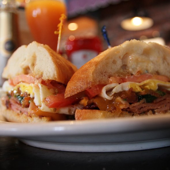 Ciabatta Breakfast Sandwich @ Mimi's Cafe