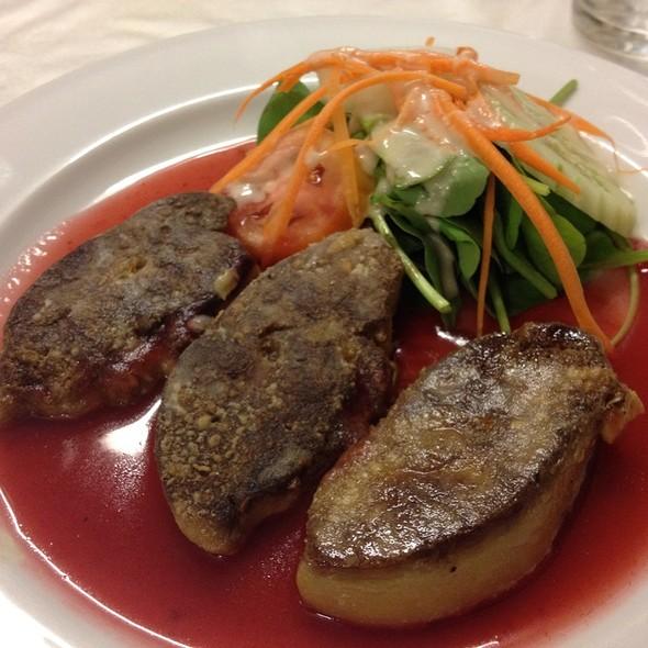 Pan Fried Foie Gras