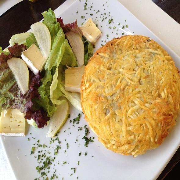 Batata Rosti Com Peito De Perú E Gorgonzola