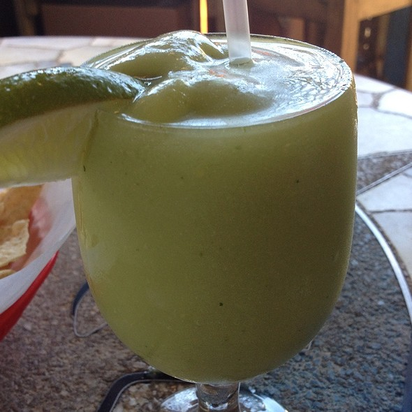 Avocado Margarita @ Curra's Grill