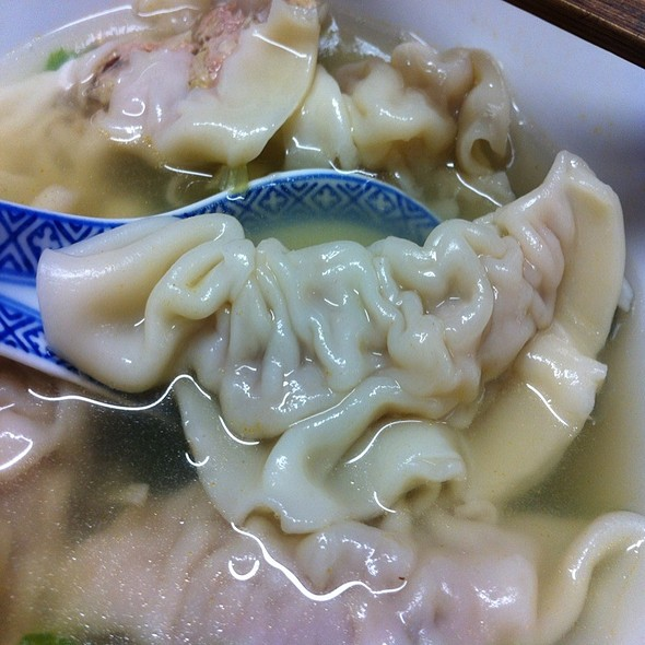 Dad's Super Dumpling Soup @ Mom's House