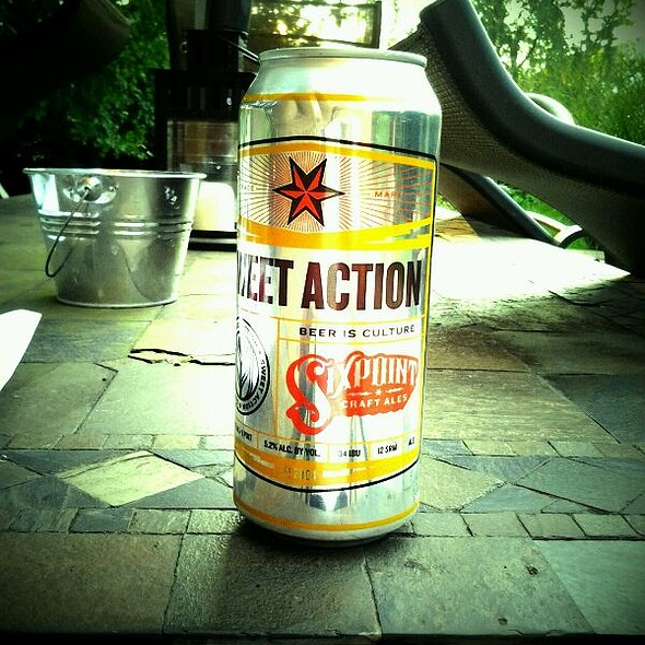 Sixpoint Sweet Action Ale @ Sixpoint Brewery