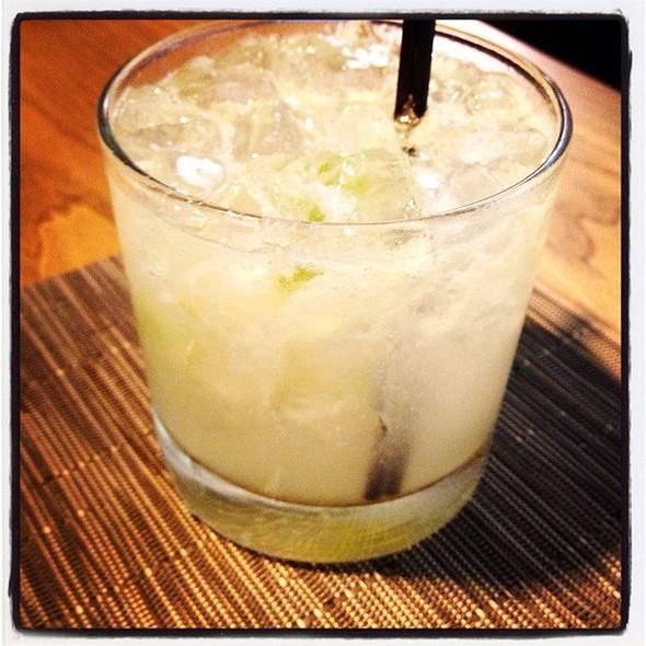 Lemongrass Caipirinha @ The Fearrington Granary Restaurant